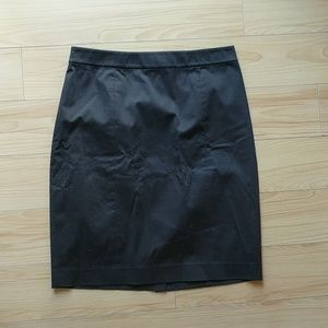 Club monaco black pencil skirt